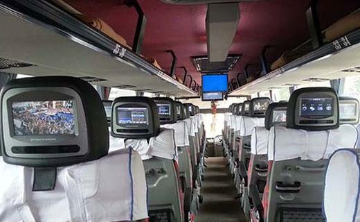 Volvo Bus Service from Delhi to Dehradun, Dehradun to Delhi Buses